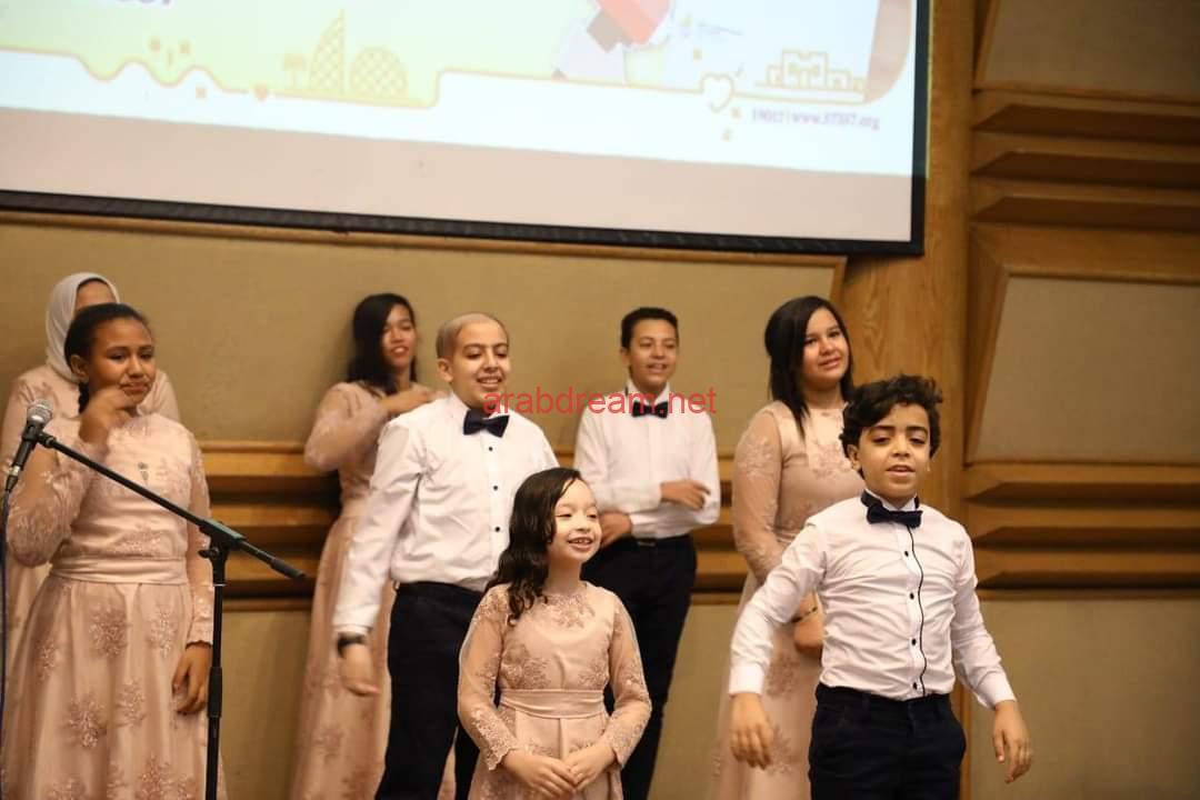 مستشفى 57357 يحتفل بالشهر العالمي للتوعية ضد سرطان الأطفال.