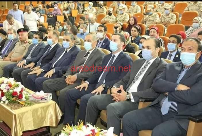 محافظ كفر الشيخ يحتفل بذكري انتصارات اكتوبر المجيد بالمركز الثقافي.