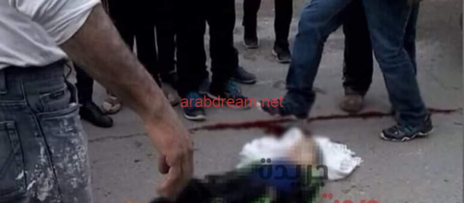 سيارة نقل تابعة للوحدة المحلية تدهس طفل بسنورس قرية وليد الفيوم.