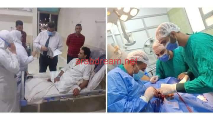 إجراء جراحة متقدمة للوجه والفكين والعظام بمستشفي فاقوس المركزي بالشرقية