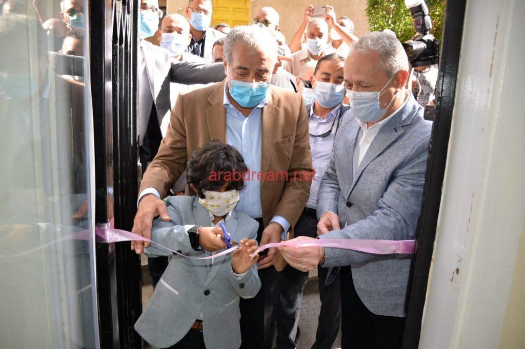 المصيلحي يفتتح مركز خدمة الموطنين بمدينة طيبة الجديدة بالأقصر بقلم ليلي حسين