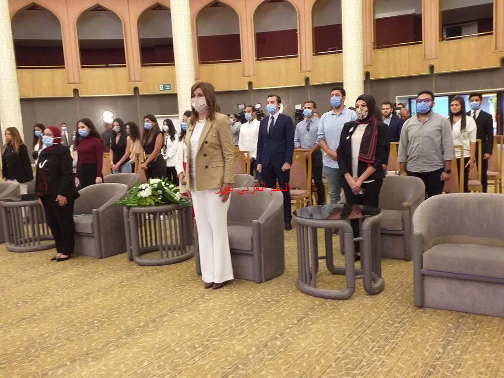 بدأ فاعليات ا لملتقي الأول لشباب الدارسين بالخارج عام ٢٠٢٠ بقلم ليلي حسين