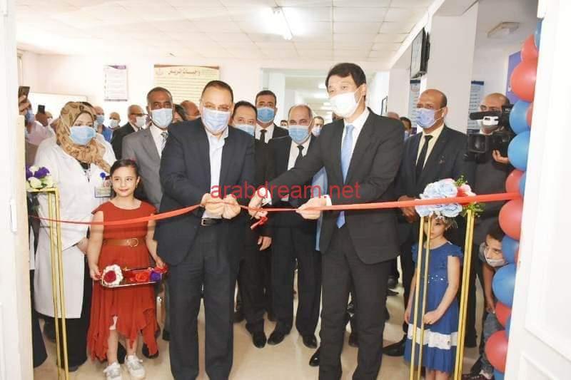 مستشفى الصالحية الجديدة المركزي تفتتح قسم الأشعة المقطعية وخزان الأكسجين.