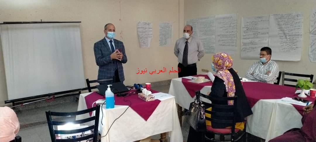 مدير تعليم الفيوم يختتم تدريب مجالس الأمناء في دعم العملية التعليمية.