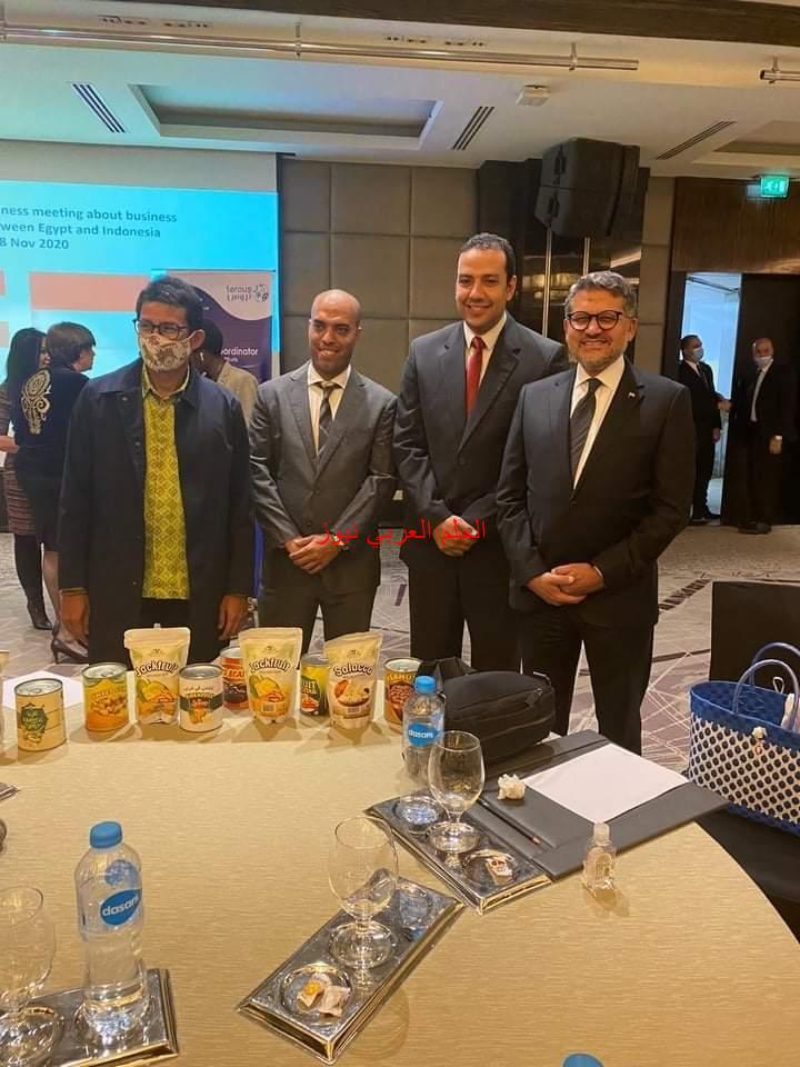 """""""مؤسسة تروس"""" تدعو الملياردير سانداياجا و30 رجل أعمال أندونيسي للإستثمار في مصر."""