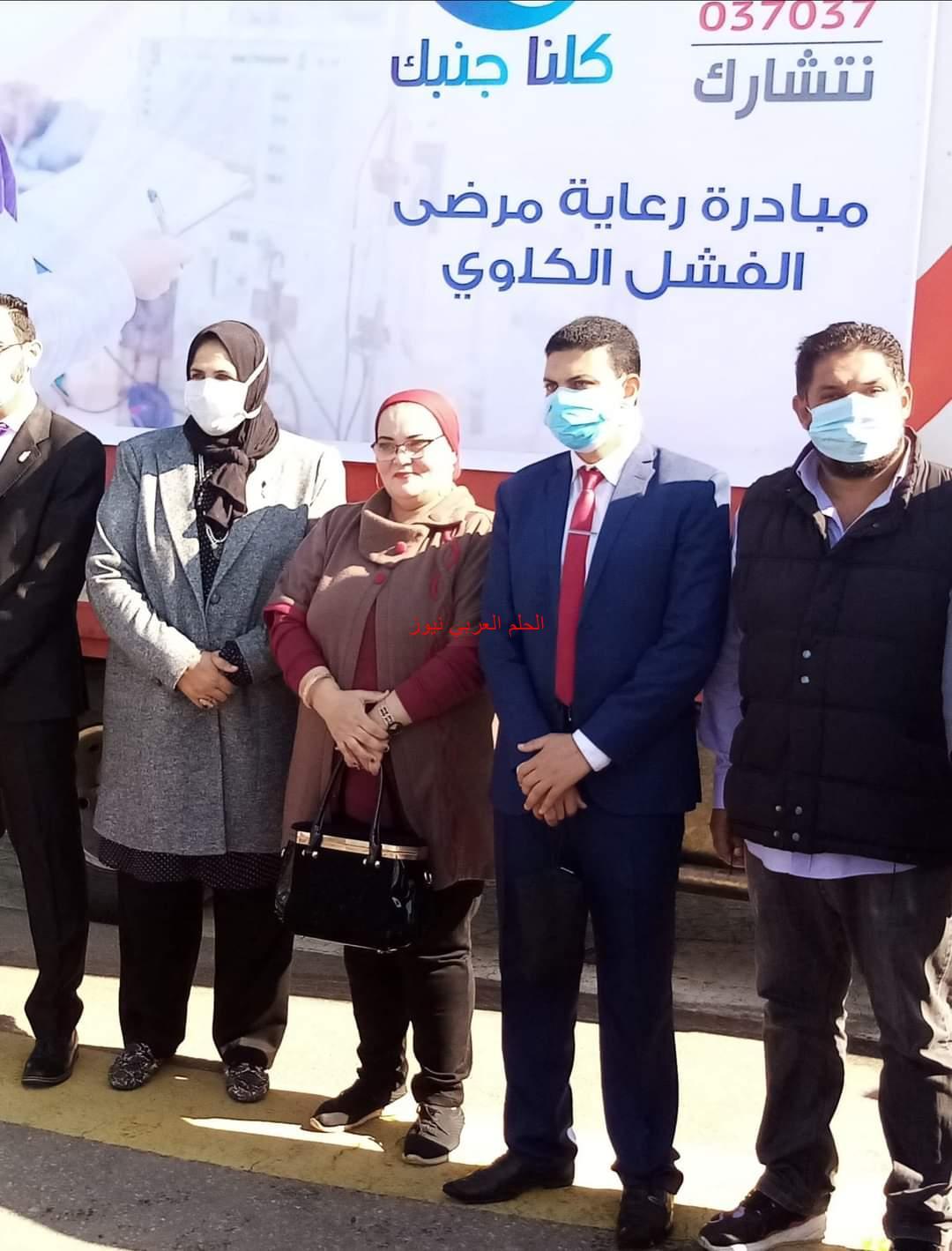 محافظ كفرالشيخ يشهد توزيع كراتين صندوق تحيا مصر لدعم الأسر الأولي بالرعاية بالمحافظة