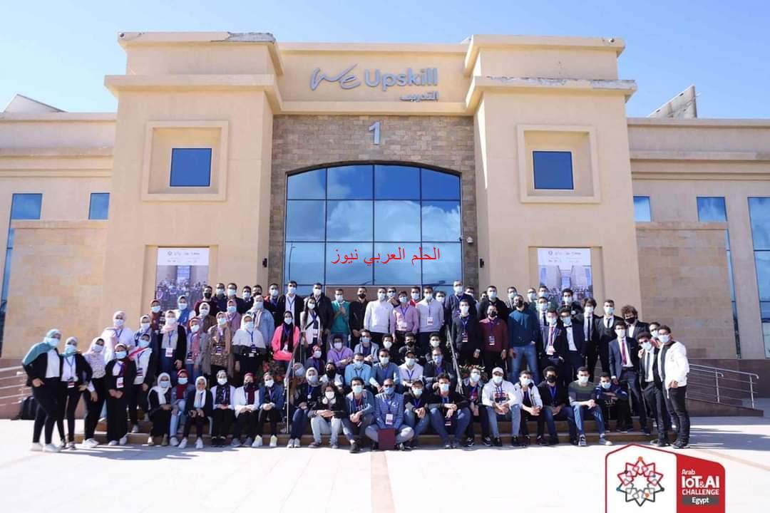 أكاديمية البحث العلمي تدعم 320 مشروع تخرج في تحدي مصر لإنترنت الأشياء.