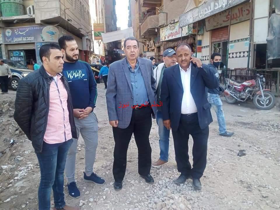 سامي عطية في استجابة سريعة لما تم نشره بجريدة الحلم العربي نيوز من معاناة المارة من العبور بنفق عثمان بمدينة الخصوص.
