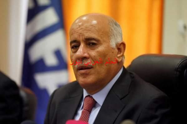 الرجوب يصل العراق في زيارة رسمية.