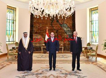 رئاس البرلمان العربي عادل العسومي ومقابلة السيسي بقلم ليلي حسين
