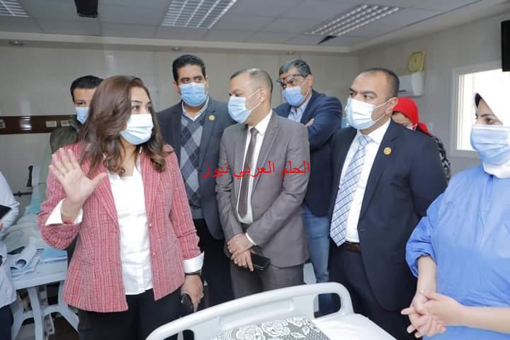 تدشين ٤ وحدات جديدة في المستشفى التخصصي بدمياط