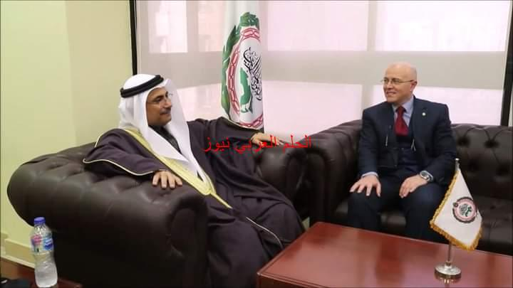رئيس البرلمان العربي يستقبل سفير المملكة المغربية لدى جمهورية مصر العربية