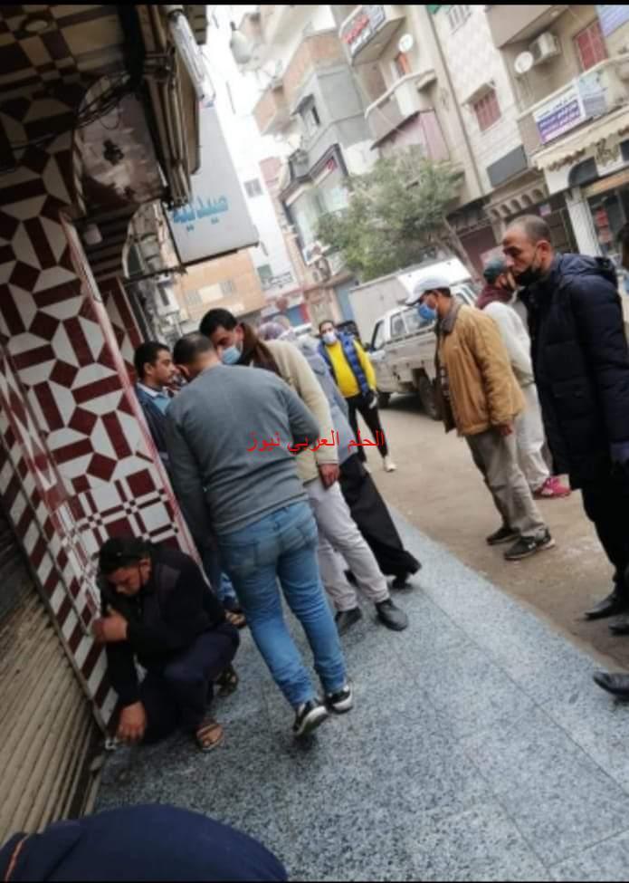 محافظ كفر الشيخ يتابع حملات ازالة الإشغالات بمدينة مطوبس