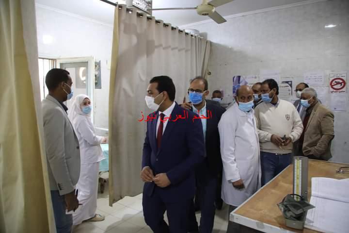 نائب محافظ قنا يتفقد المنظومة الصحية بنقادة