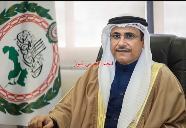 رئيس البرلمان العربي يثمن مبادرة المملكة الأردنية الهاشمية في توفير لقاح كورونا للاجئين بالمجان