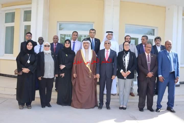 رئيس البرلمان العربي والوفد المرافق يلتقي مع وزير التعليم العالي في جمهورية جيبوتي
