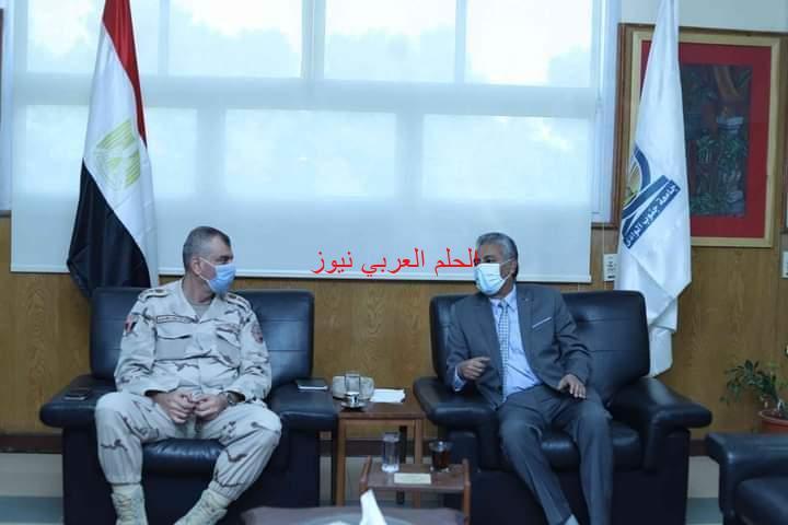 اجتماع تنسيقي لتطوير القرى المصرية بجامعة جنوب الوادي