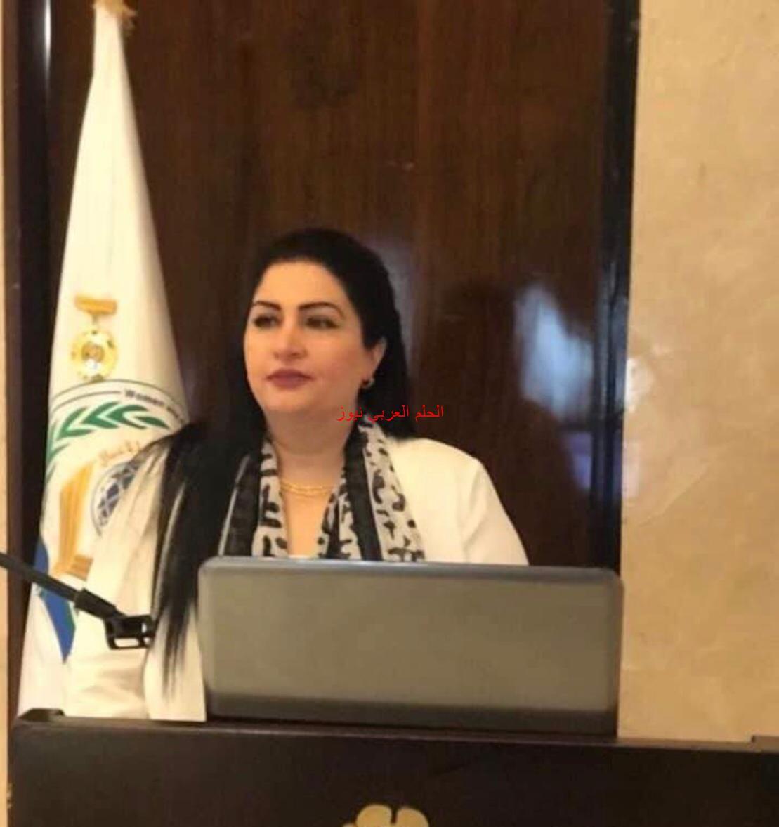 """""""إيمان غصين"""" تطلق مبادرة فرسان الإعلام في الوطن العربي."""