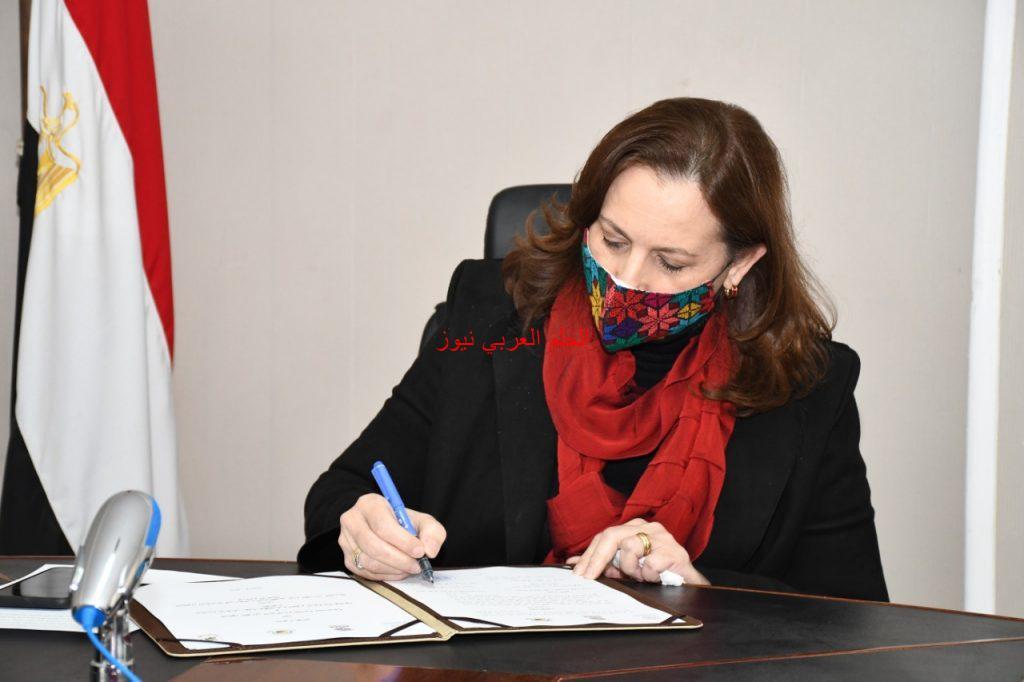 بجامعة القاهرة توقيع مذكرة تفاهم بين القومي للحكومة وكلية سياسة وأقتصاد بقلم ليلي حسين