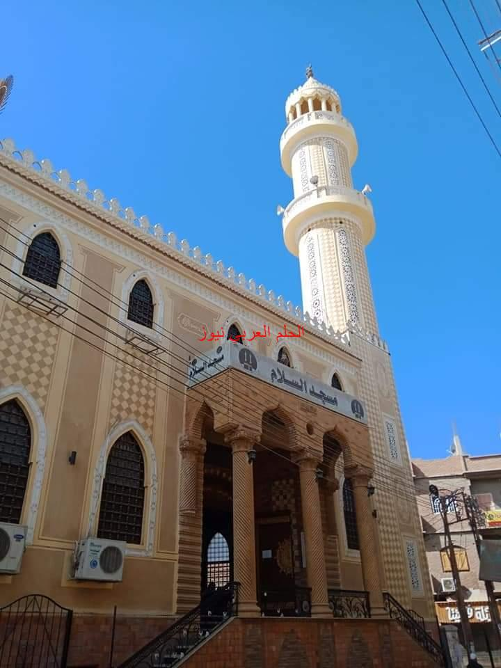 مسجد السلام صرح جديد بالجهود الذاتية