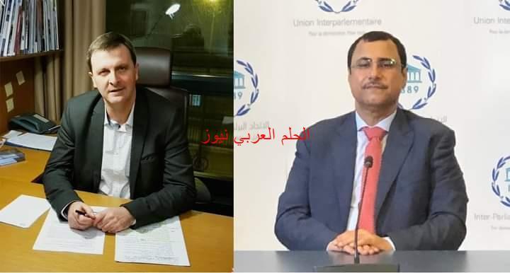 مباحثات رئيس البرلمان العربي بجنيف
