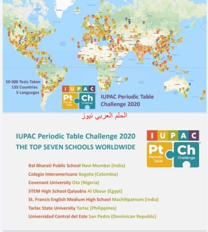فوز مدرستين من مصر ضمن أفضل خمسة عشر مدرسة على العالم