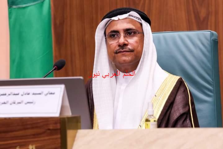 رئيس البرلمان العربي: الإعتداء على مطار أبها الدولي عمل إرهابي خسيس