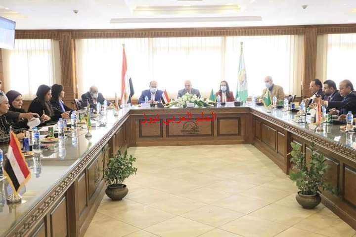محافظة الجيزة ضخ حوالي 12.5 مليار جنيه لمشاريع مياه الشرب والصرف الصحي