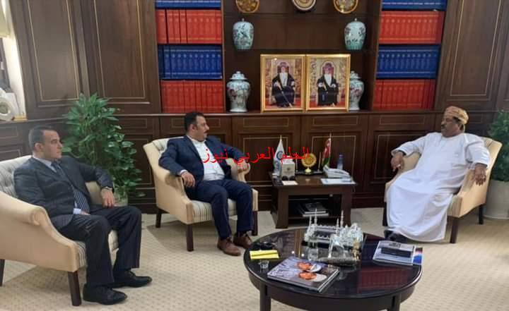 رئيس غرفة تجارة وصناعة عمان يلتقي وفد جمعية رجال الأعمال المصريين العمانيين