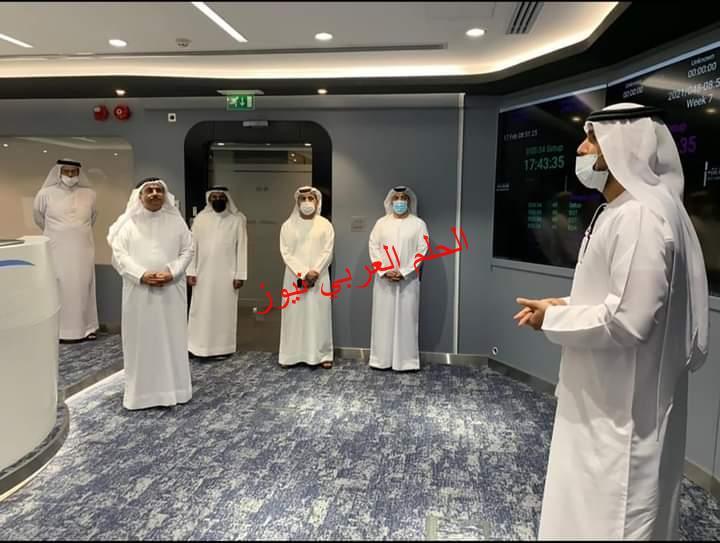 رئيس البرلمان العربي يزور مركز محمد بن راشد للفضاء
