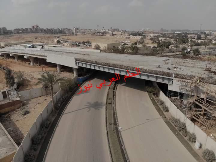 بدء التشغيل التجريبي لـ محور الفردوس الذي يربط بين منطقة وسط القاهرة والطريق الدائري