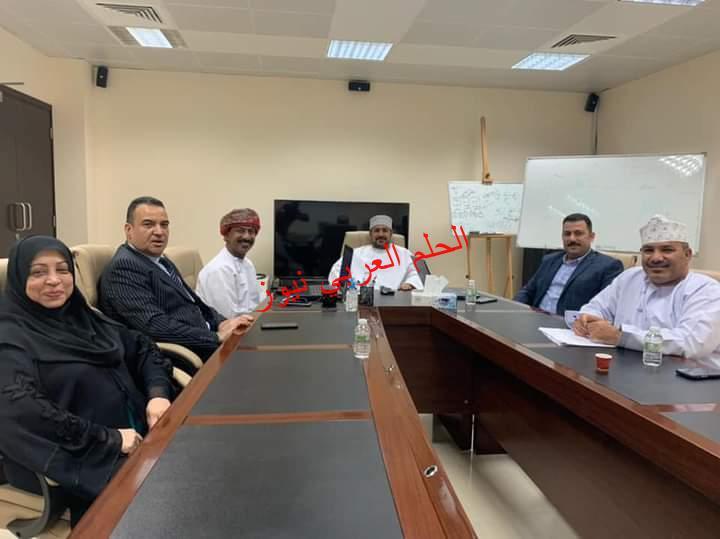 لقاء تشاوري بين الجمعية العمانية للسينما والمسرح وجمعية رجال الأعمال المصريين العمانيين.