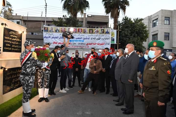 في يوم الطبيب المصري محافظ قنا يدشن النصب التذكاري لأبطال الجيش الأبيض