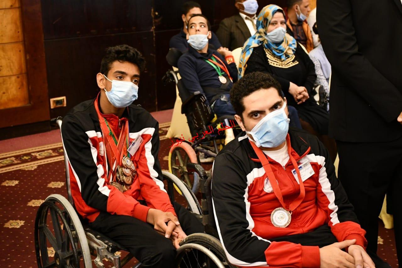 اشرف صبحي والمؤتمر العلمي الدولي الأتحاد المصري للاعبين ذوي الشلل الدماغي بقلم ليلي حسين