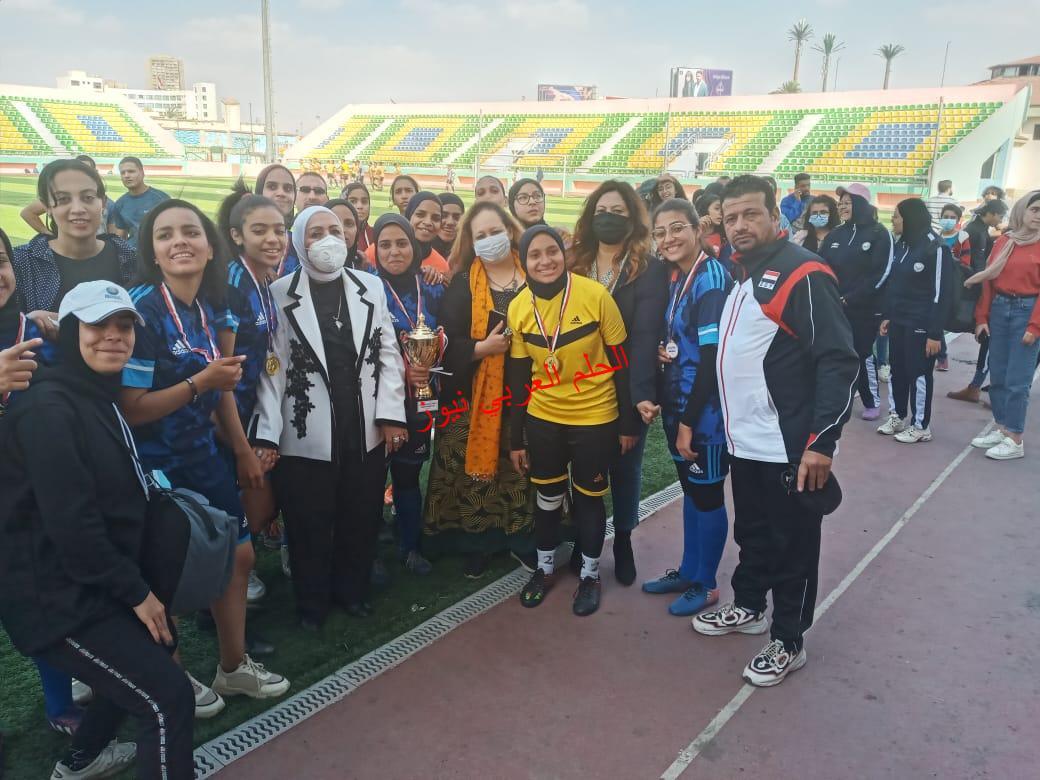 حفل ختام البطولة الأفروعربية الأولي لكرة القدم النسائية بقلم ليلي حسين