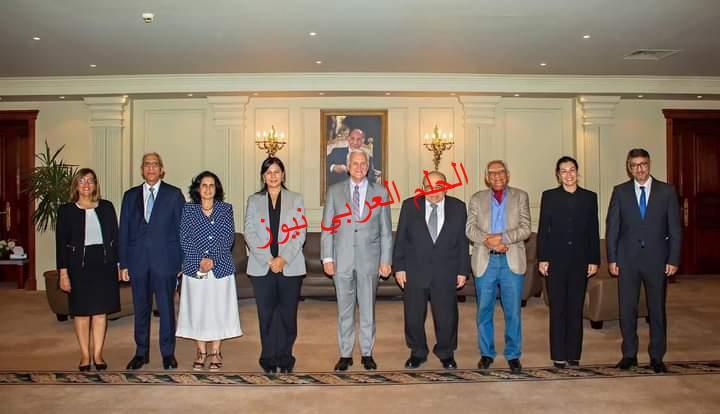 """الجامعة البريطانية تستقبل رئيس """"الأمريكية"""" AUC لبحث التعاون والشراكة في البحث العلمي"""
