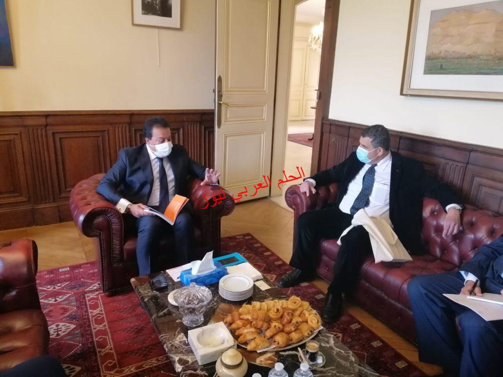 وزير التعليم العالي يعقد اجتماعًا مع وفد جامعة جان مولان ليون 3 لبحث توقيع اتفاقية مع جامعة العلمين الدولية بقلم ليلي حسين