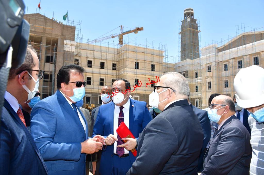 إفتتاح أول كلية للنانو تكنولوجي في الشرق الأوسط فالثورة الصناعيةالرابعةتتم بالأستعداد لرفع مستوي التعليم والبحث العلمي بقلم ليلي حسين