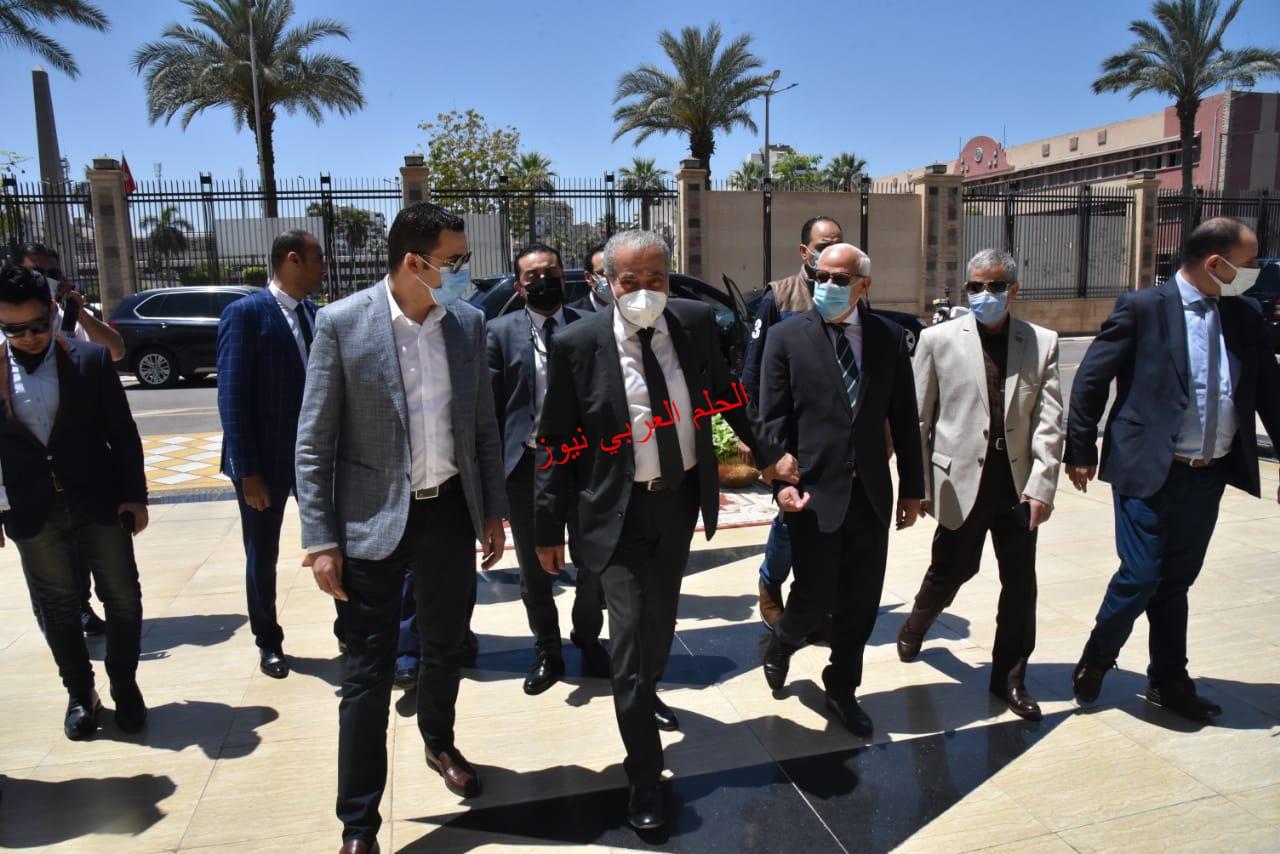 محافظ بورسعيد يستقبل وزير التموين والتجارة الداخلية .بقلم ليلي حسين