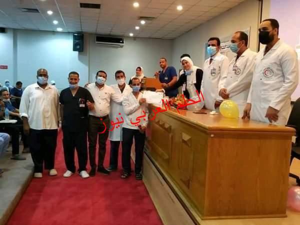 """""""مستشفي الاقصر الدولي"""" تحتفل بيوم التمريض العالمي.."""