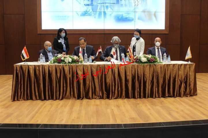 عقب شهرين من افتتاح الرئيس السيسى لها:مدينة الدواء المصرية تحقق أولى أهدافها الاستراتيجية باتفاقية مع اليابان