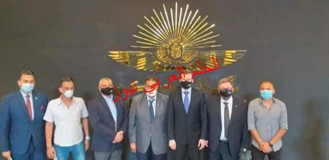 المتحف القومي للحضارة المصرية يستقبل رئيس الوكالة الدولية لمكافحة المنشطات (وادا)