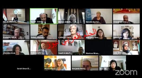 ميشيل باشلية المفوضة السامية لحقوق الإنسان تشيد بالجهود المصرية في وضع استراتيجية وطنية لتمكين المرأة 2030