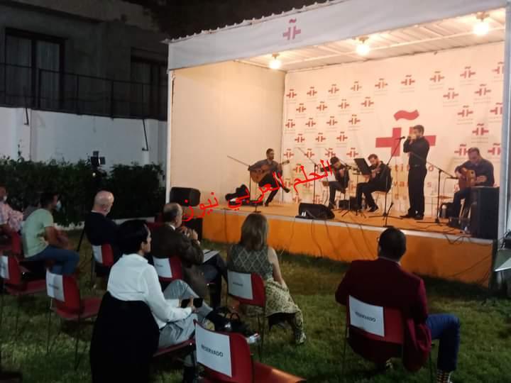 سفيرا إسبانيا والمكسيك في ثاني أيام أسابيع في الحديقة بمعهد ثربانتس بالقاهرة