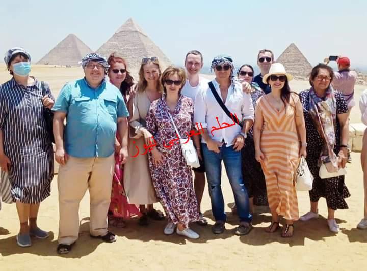 ياريلوفا نائبة وزيرة الثقافة الروسية على هامش زيارتها الرسمية لمصر تشيد بالحضارة المصرية