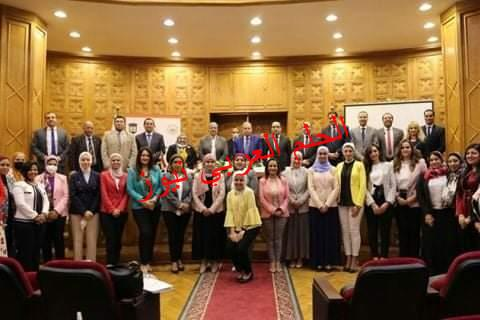 """رئيسة القومي للمرأة تشارك في اطلاق تقرير """" التقييم النوعى القطري للقطاع الزراعي والريفي- مصر """""""