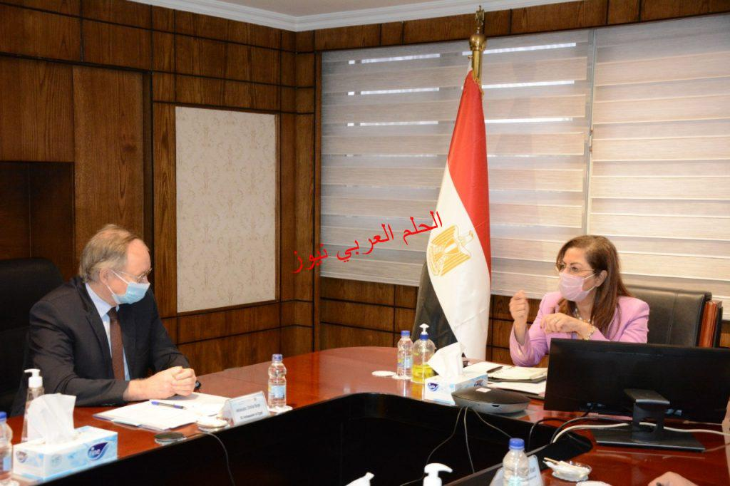 بمصرهاله السعيد تلتقي كريستيان سفير الأتحاد الأوروبي بقلم ليلي حسين