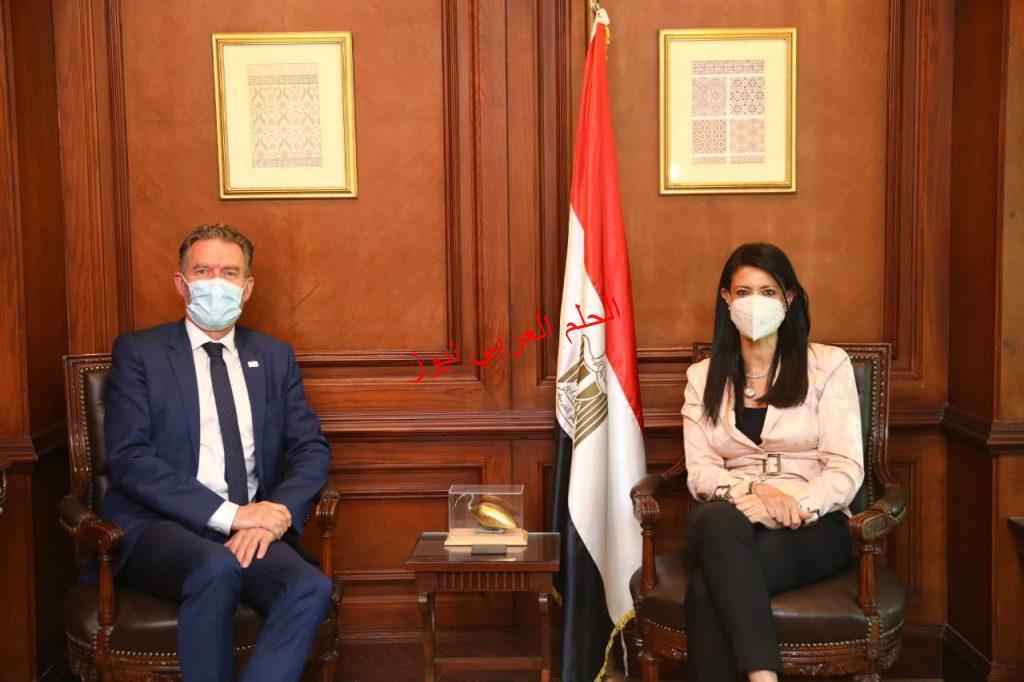 النشاط  تلتقى مساعد الأمين العام للأمم المتحدة لبحث مجالات التعاون المشترك بقلم ليلي حسين