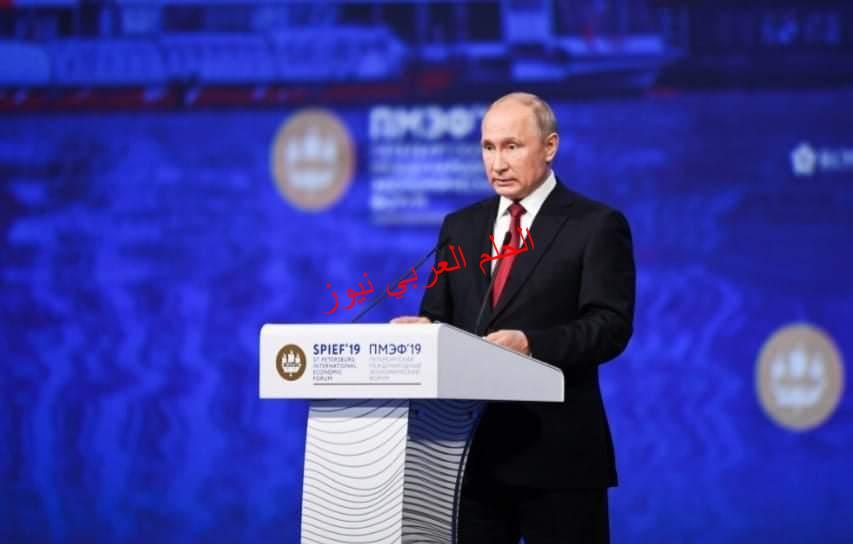 روسيا العظمى الدكتور السديري من خلال مشاركته بمنتدى سان بطرسبورغ الاقتصادي العالمي يؤكد روسيا بلد الامن والأمان .