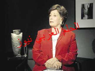 السيدة جيهان السادات أرملة الرئيس الراحل أنور السادات في ذمة الله